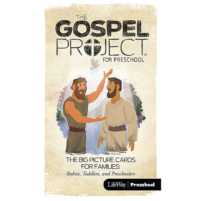 The Gospel Project for Preschool: Big Picture Cards for Families Preschool - Volume 7: The Rescue Begins