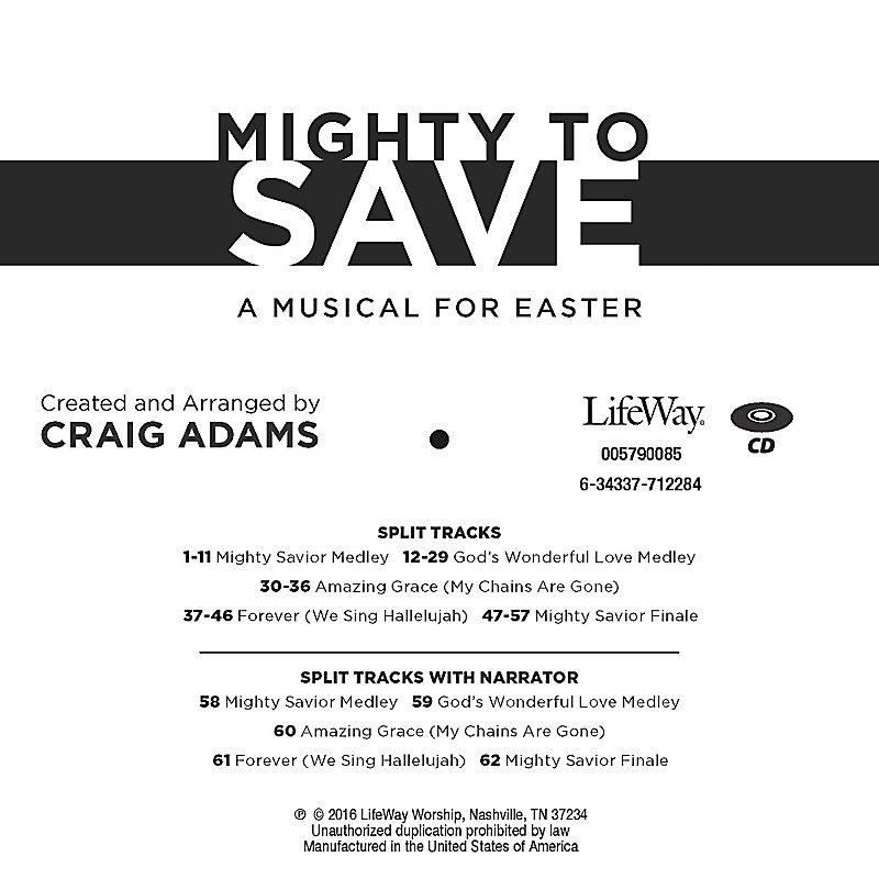 Mighty to Save - Accompaniment CD
