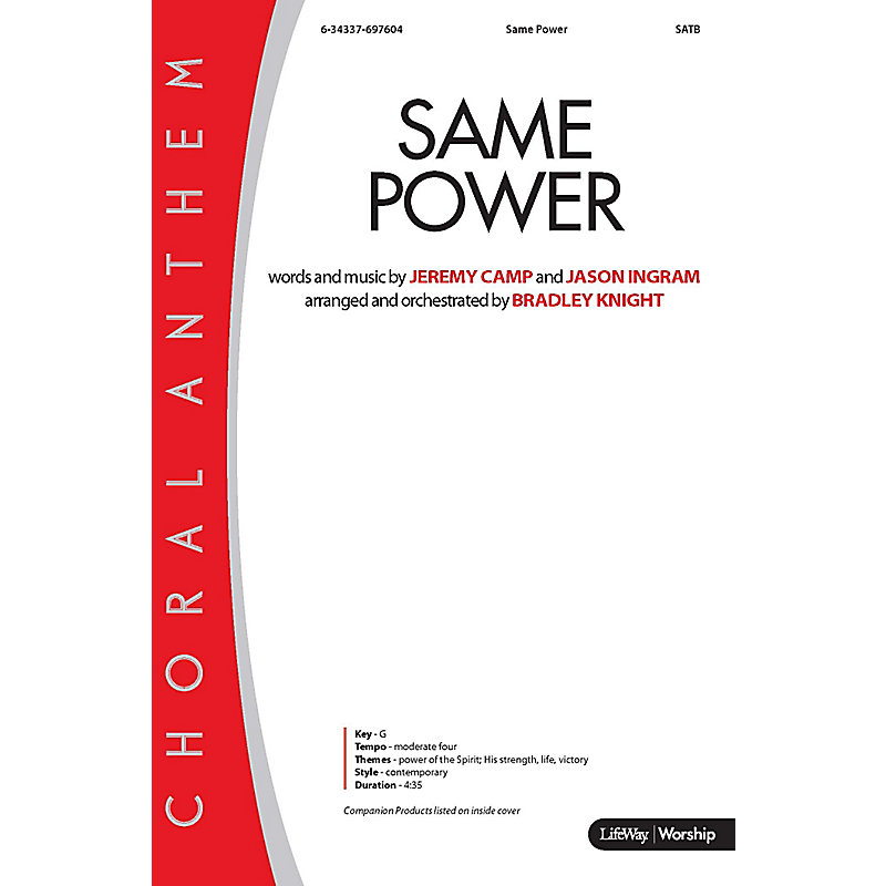 Same Power - Orchestration CD-ROM