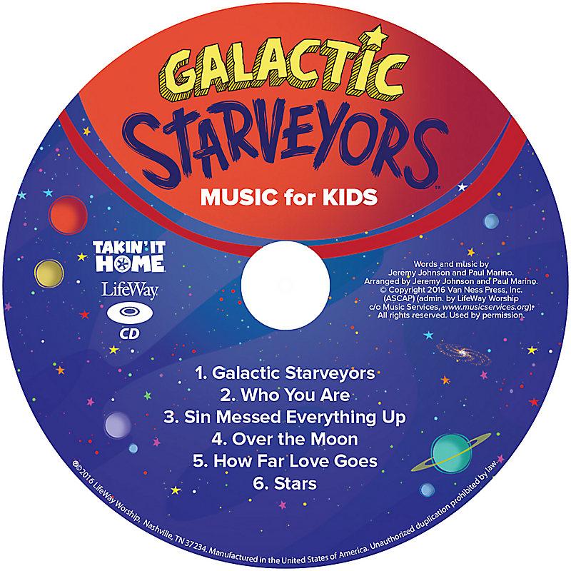 VBS 2017 Music For Kids CD