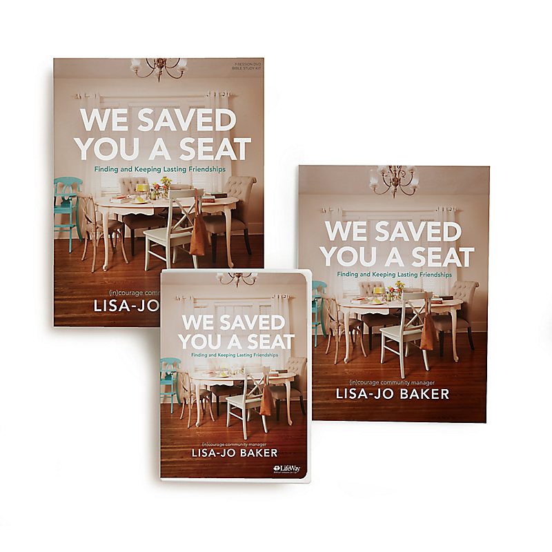 We Saved You a Seat - Leader Kit