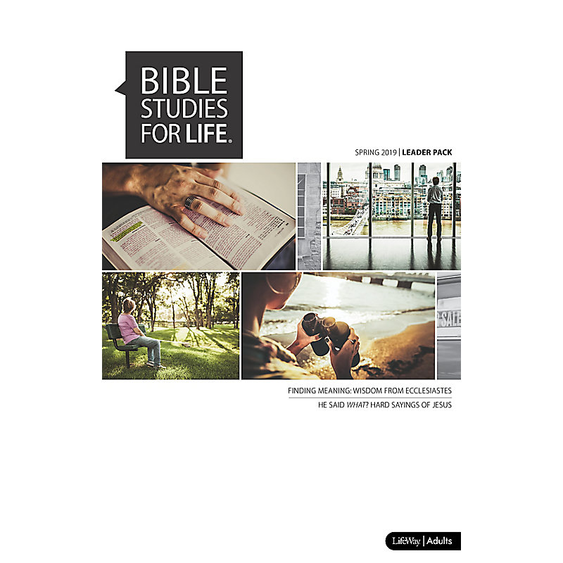 Bible Studies for Life: Adult Leader Pack - Spring 2019 - Use with any Leader Guide or the Daily Discipleship Guide