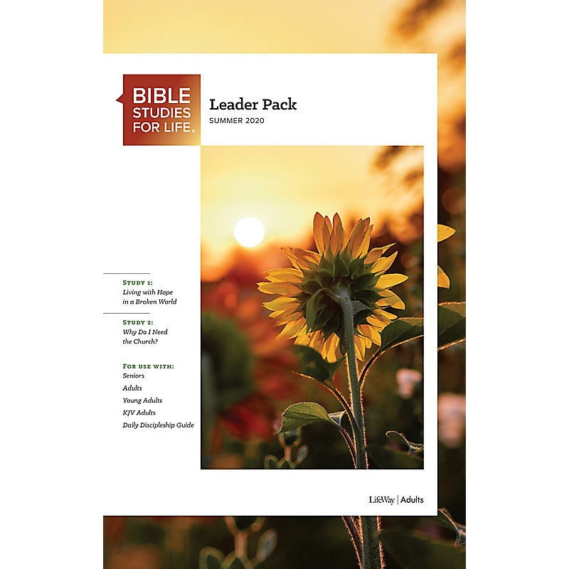 Bible Studies for Life: Adult Leader Pack - Summer 2020