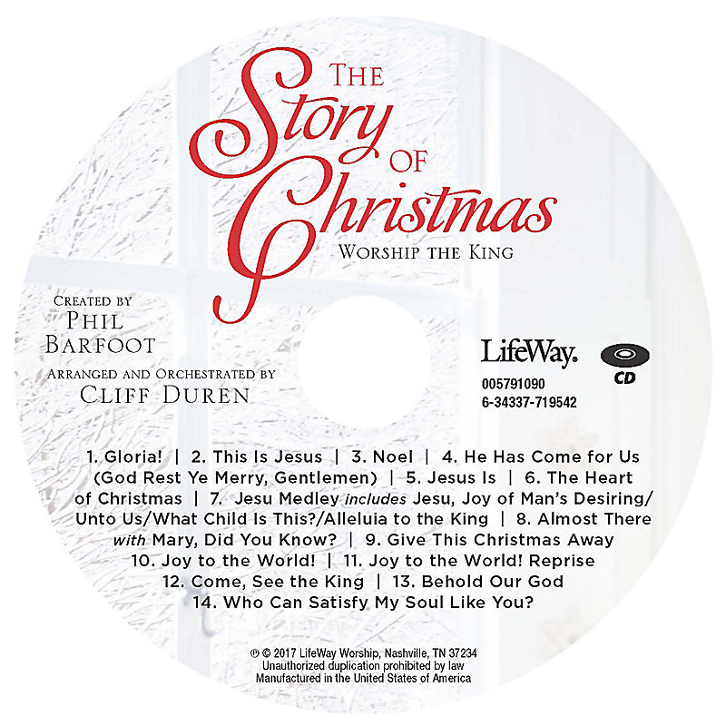 The Story of Christmas - Orchestration CD-ROM
