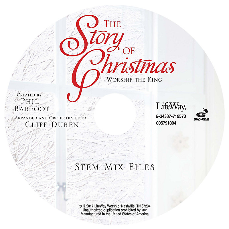 The Story of Christmas - Stem Tracks CD-ROM