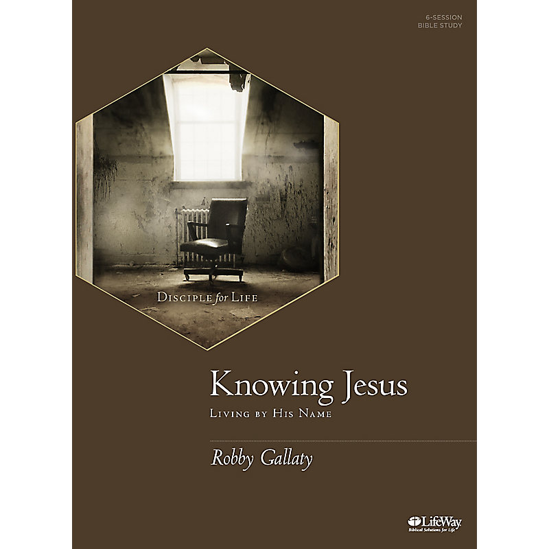 Knowing Jesus - Bible Study Book