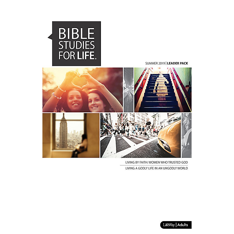 Bible Studies for Life: Adult Digital Leader Pack - Summer 2019 - Use with  any Leader Guide or the Daily Discipleship Guide