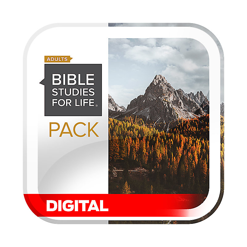 Bible Studies for Life: Adult Digital Leader Pack - Fall 2020