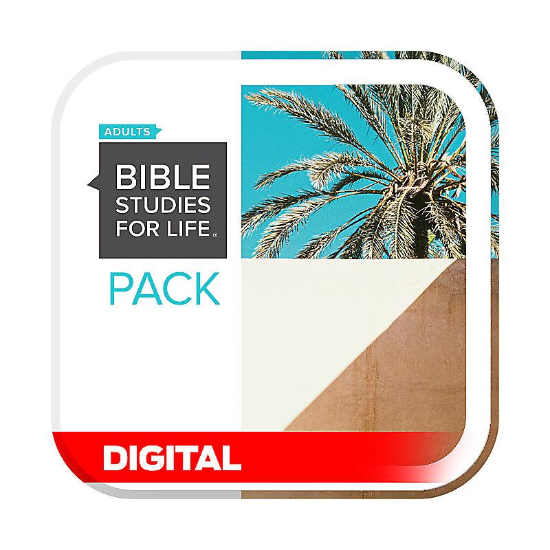Bible Studies for Life: Adult Digital Leader Pack - Summer 2021