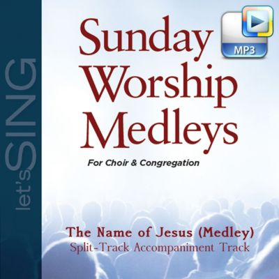 Sunday Worship Medleys - Let's Sing Collection - LifeWay