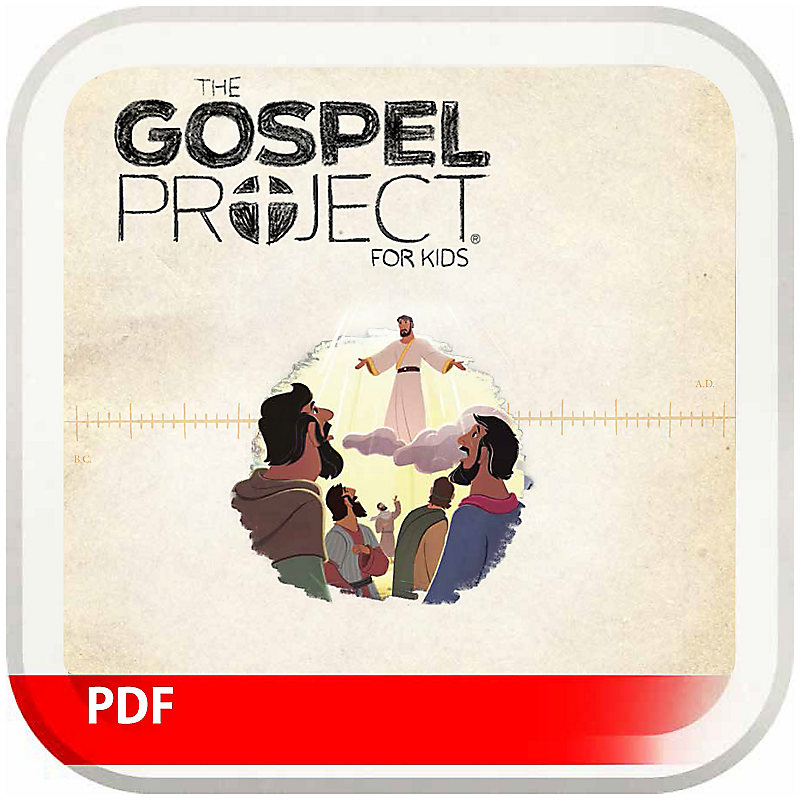 The Gospel Project for Kids: Older Kids Leader Guide PDF - Volume 9: Jesus Saves
