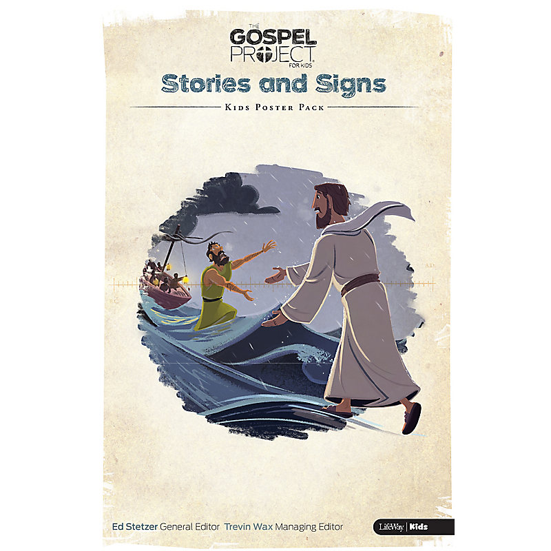The Gospel Project for Kids: Kids Poster Pack - Volume 8: Stories and Signs