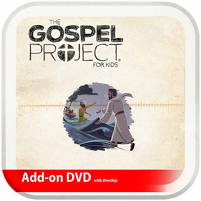 The Gospel Project for Kids: Kids Leader Kit with Worship Add-On DVD - Volume 8: Stories and Signs