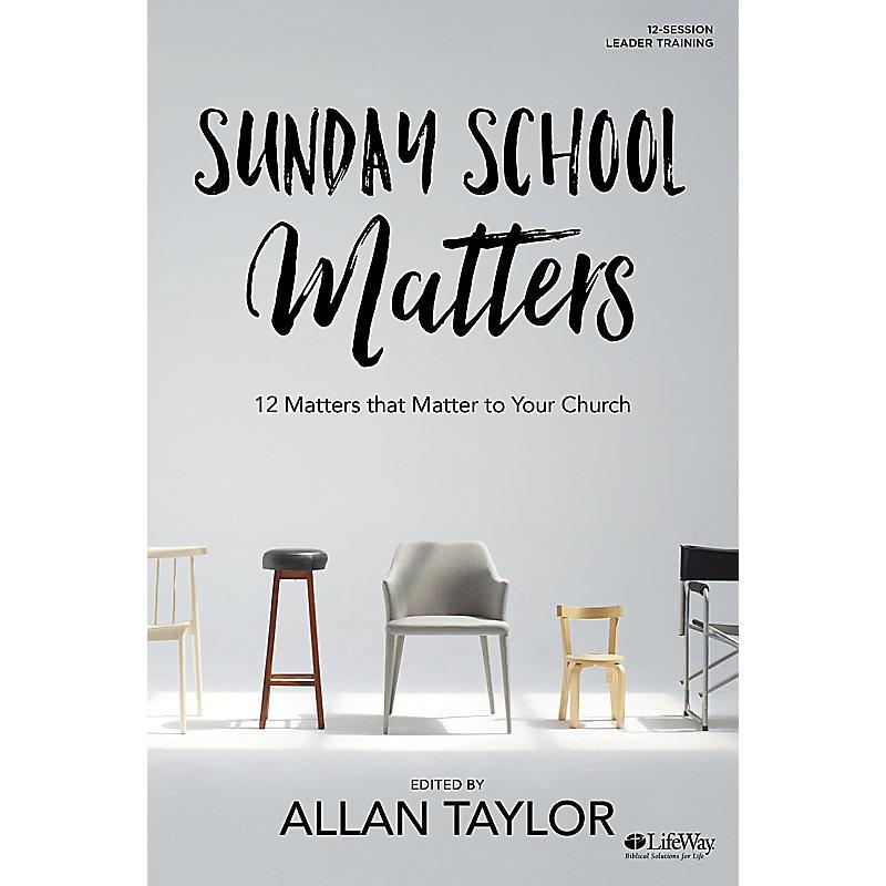 Sunday School Matters - Leader Kit