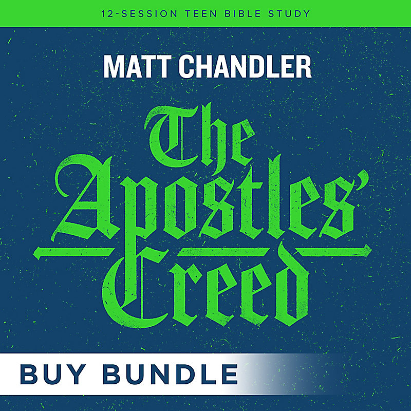 The Apostles' Creed - Teen Bible Study Digital Leader Kit