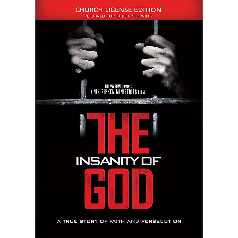 The Insanity of God Church License DVD