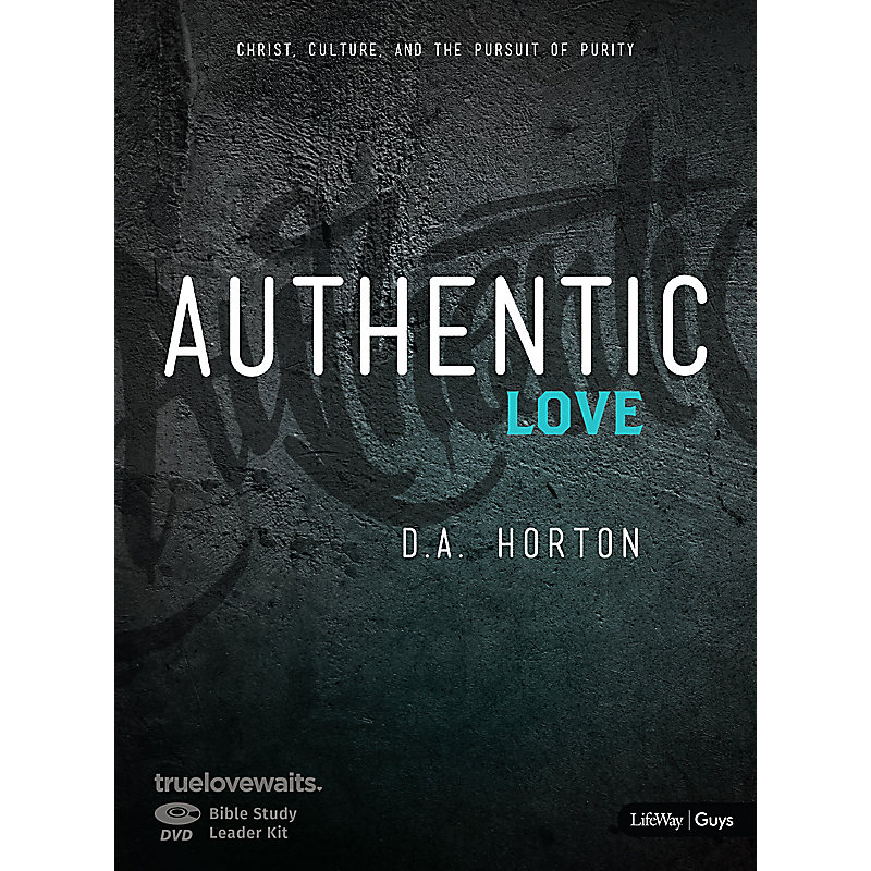 Authentic Love - Bible Study for Guys Digital Leader Kit