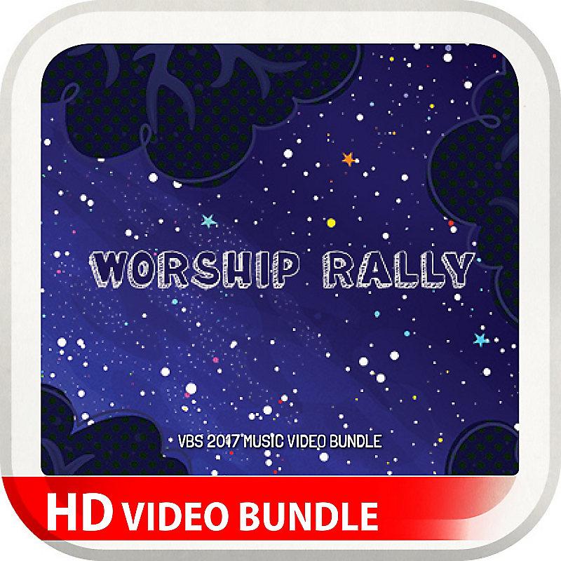 VBS 2017 Worship Rally Music Video Bundle