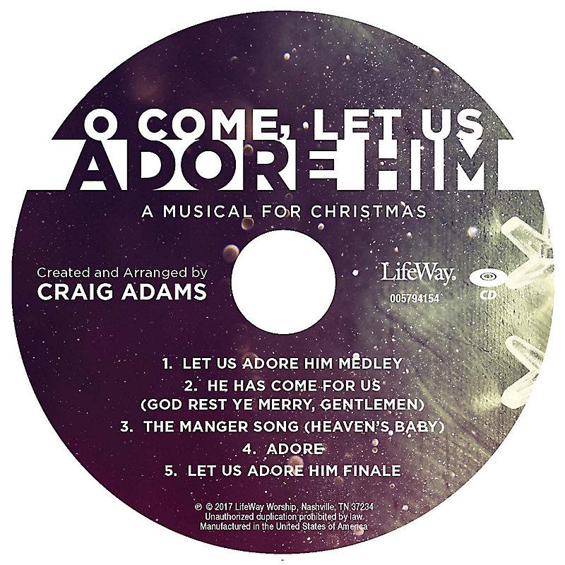 O Come, Let Us Adore Him - Rhythm Charts CD-ROM