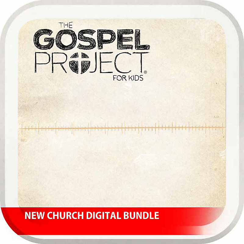 New Church Digital Bundle - The Gospel Project for Kids