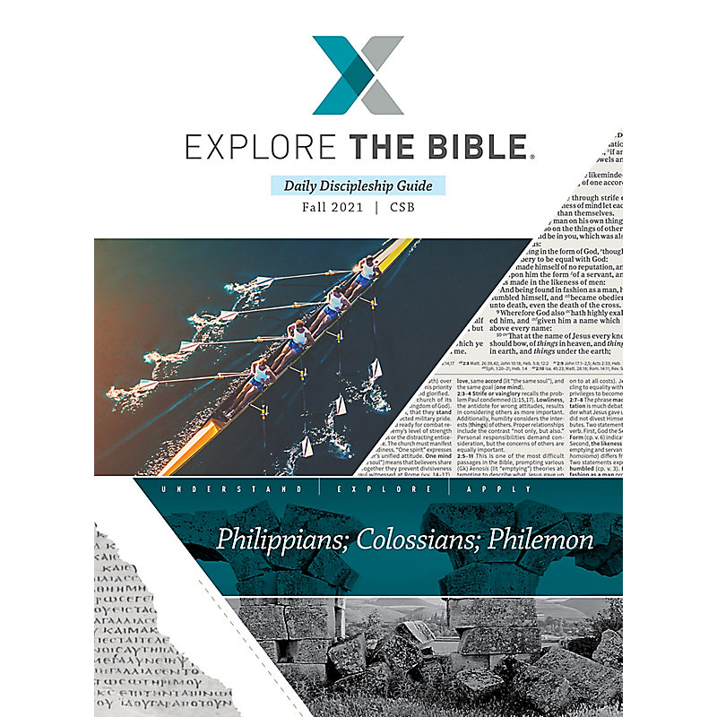 Explore the Bible: Daily Discipleship Guide - CSB - Fall 2021