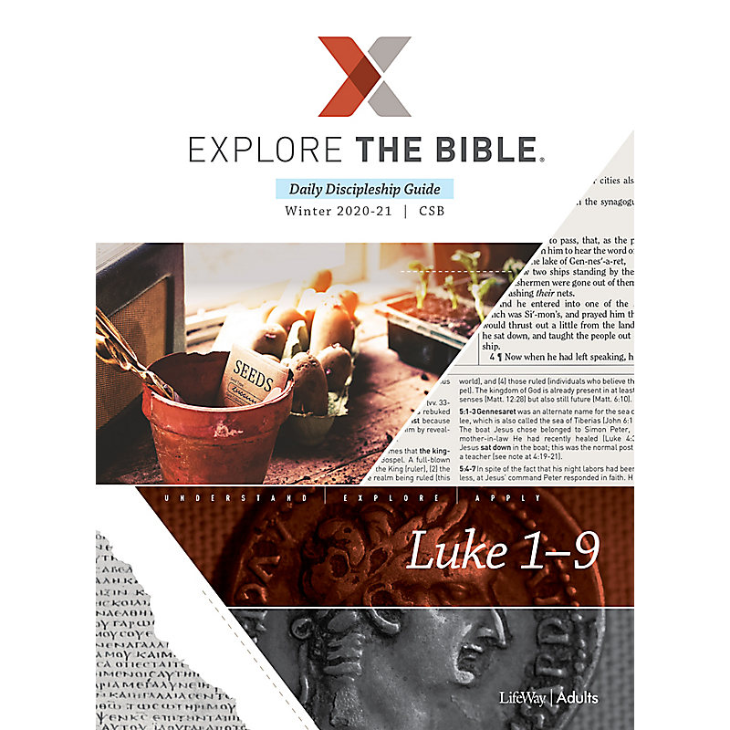 Explore the Bible: Daily Discipleship Guide - CSB - Winter 2021