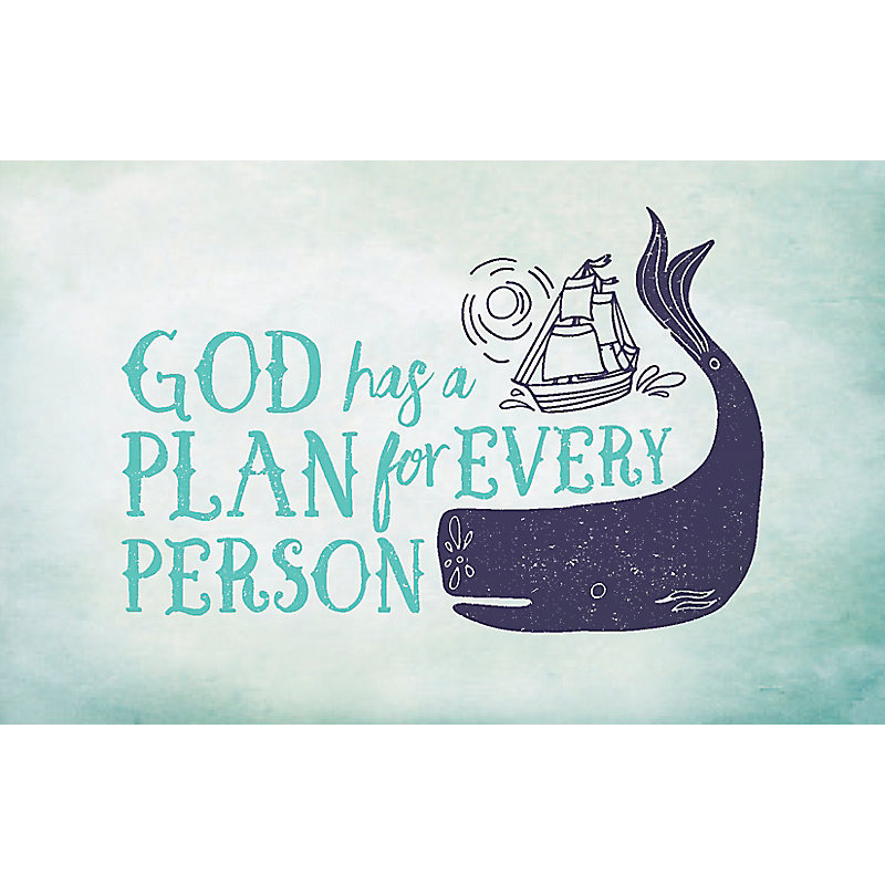 Bible Studies For Life: Kids God Has a Plan Postcards Pkg  25