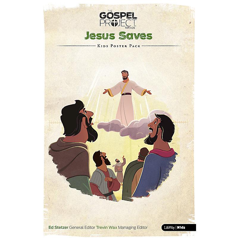 The Gospel Project for Kids: Kids Poster Pack - Volume 9: Jesus Saves