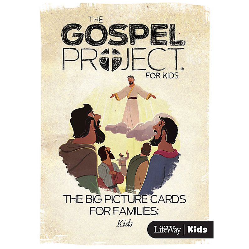 The Gospel Project for Kids: Big Picture Cards for Families: Kids - Volume 9: Jesus Saves