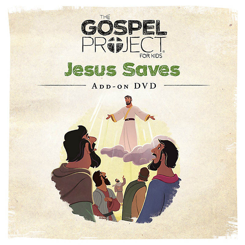 The Gospel Project for Kids: Kids Worship Hour Add-On DVD - Volume 9: Jesus Saves