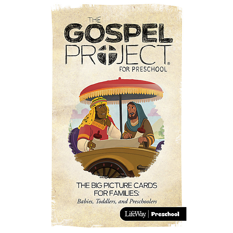 The Gospel Project for Preschool: Big Picture Cards for Families: Preschool - Volume 10: The Church on Mission