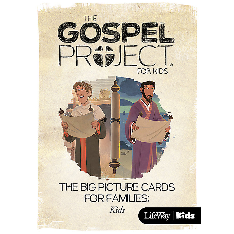 The Gospel Project for Kids: Kids Big Picture Cards for Families - Volume 11: Letters to God's People