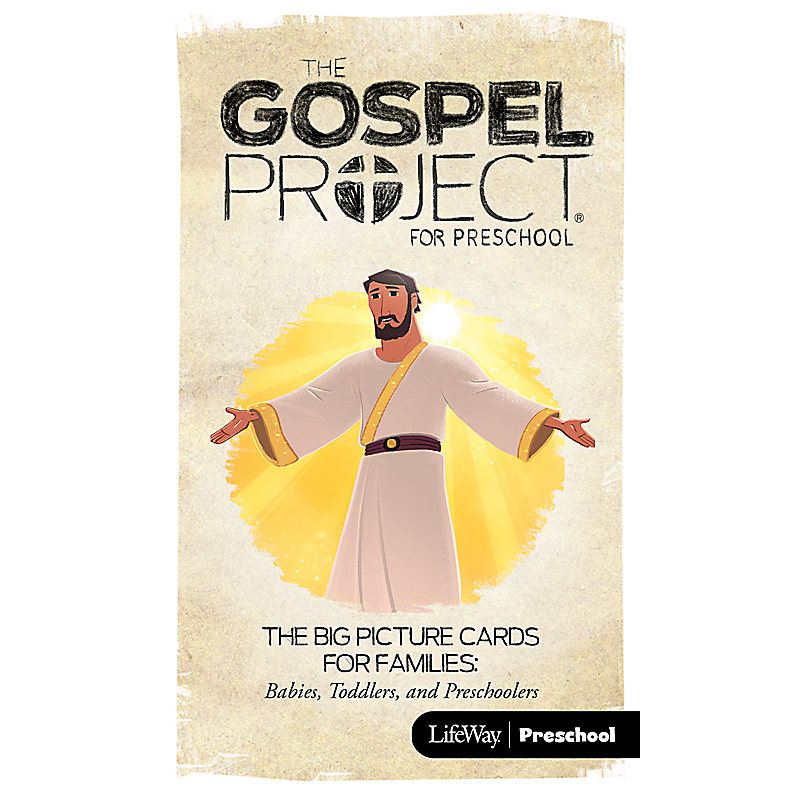 The Gospel Project for Preschool: Preschool Big Picture Cards for Families - Volume 12: Come, Lord Jesus
