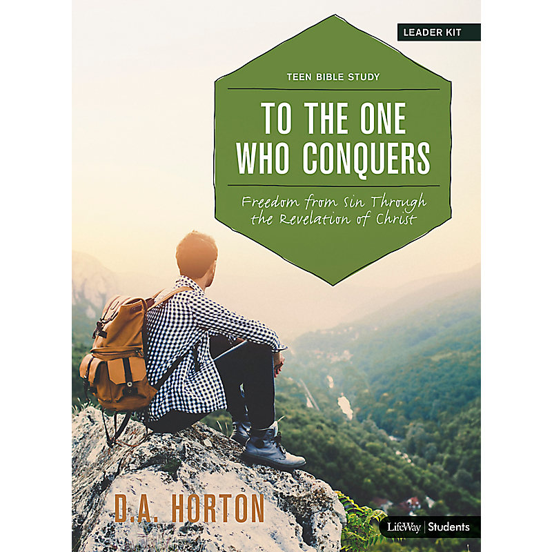 To the One Who Conquers - Teen Bible Study Digital Leader Kit