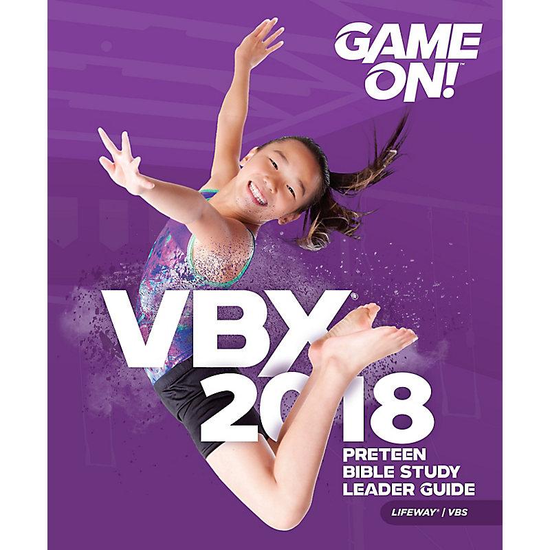 VBS 2018 VBX Preteen Bible Study Leader Guide