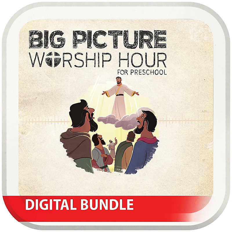 The Big Picture Worship Hour for Preschool - Volume 9: Jesus Saves