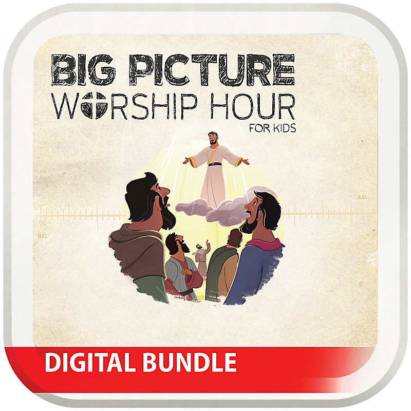 The Big Picture Worship Hour for Kids - Volume 9: Jesus Saves