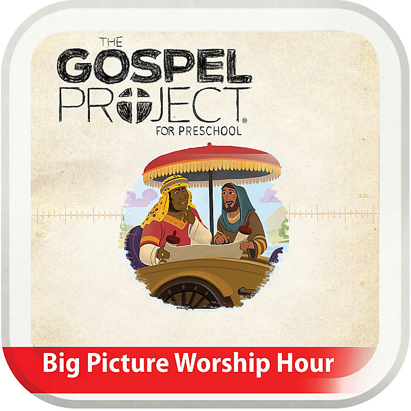 The Big Picture Worship Hour for Preschool - Volume 10: The Church on Mission
