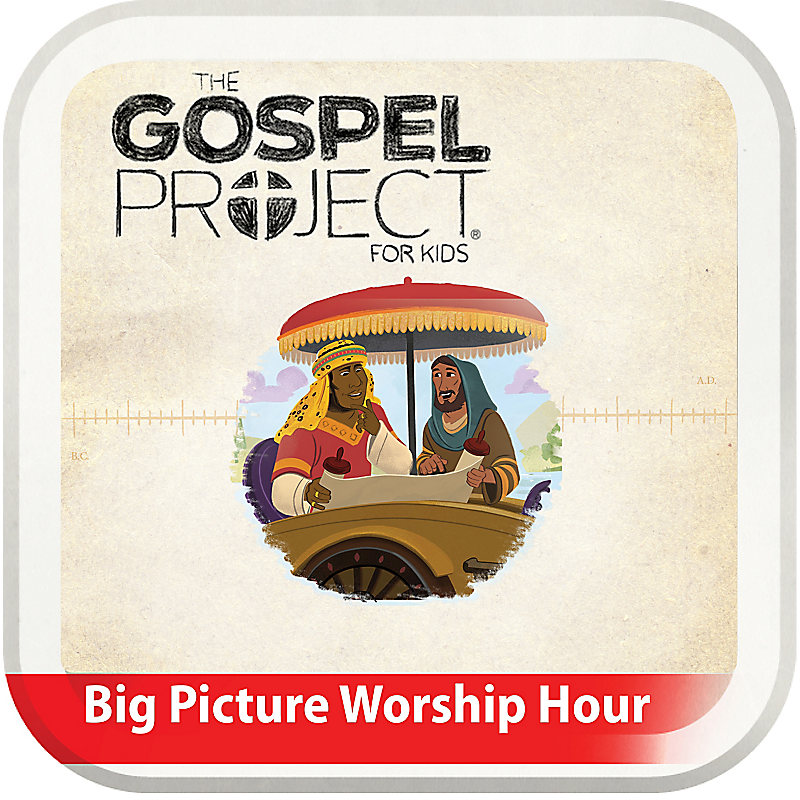The Big Picture Worship Hour for Kids - Volume 10: The Church on Mission