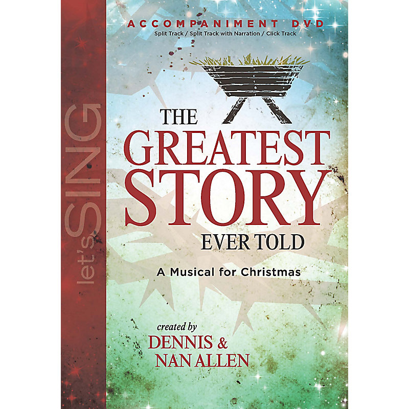 The Greatest Story Ever Told - Accompaniment DVD