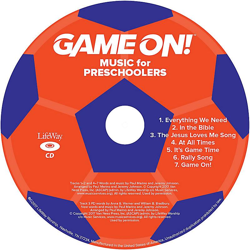 VBS 2018 Music for Preschoolers CD Pkg 5