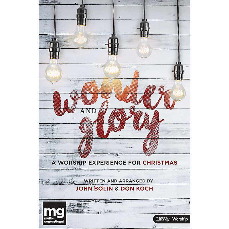 Wonder and Glory - Listening CD - LifeWay