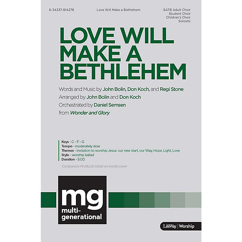 Love will make a bethlehem downloadable lyric file lifeway love will make a bethlehem downloadable lyric file stopboris Images