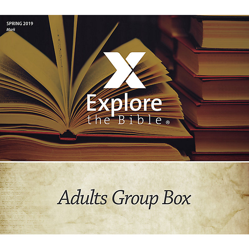 Explore the Bible: Adults Group Box CSB - Spring 2019