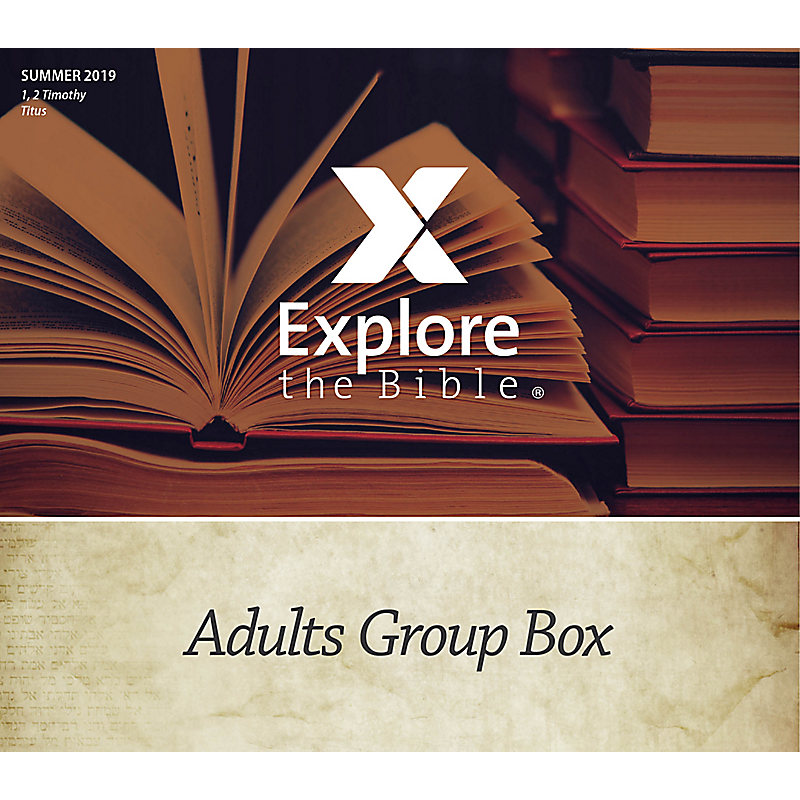 Explore the Bible: Adults Group Box CSB - Summer 2019