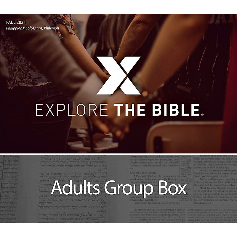 Explore the Bible: Adults Group Box - Fall 2021