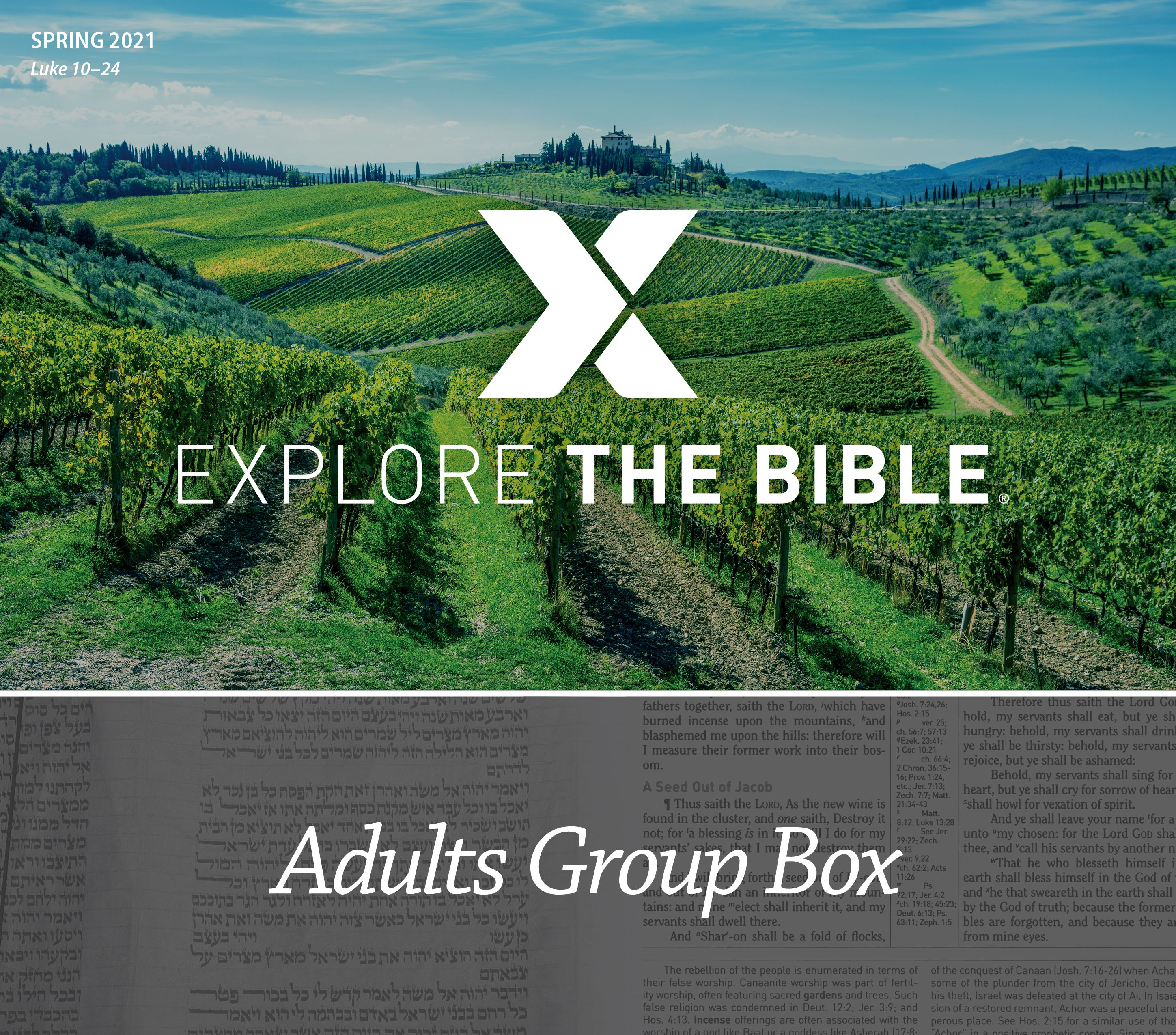 Explore the Bible Adult Group Box