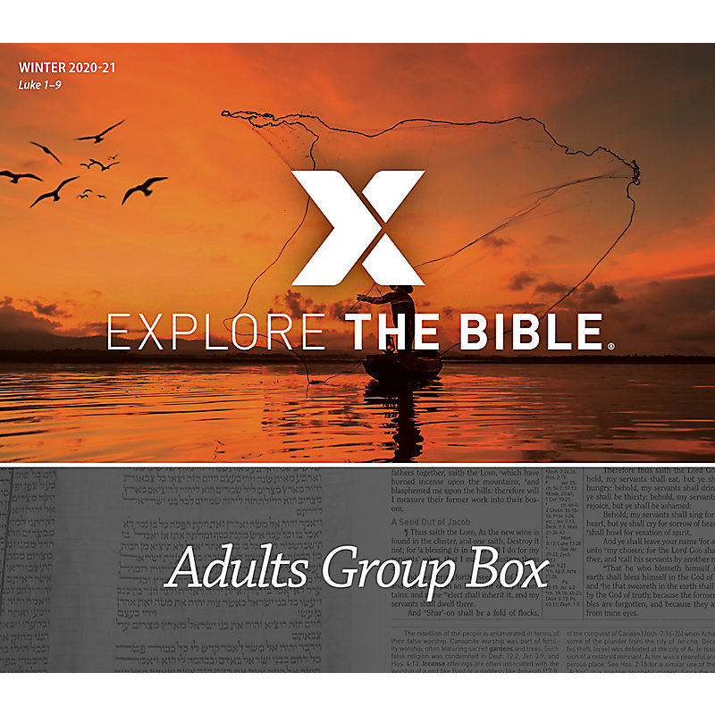 Explore the Bible: Adults Group Box - Winter 2021