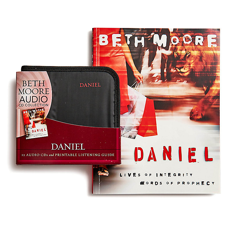 Daniel Bible Study Book + Audio CD Set