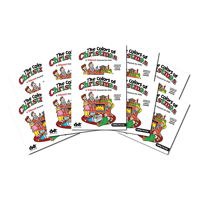 The Colors of Christmas - Bulk Listening CDs (Pack of 10) - LifeWay